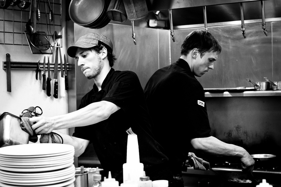 Restaurant Kitchen Photography in season
